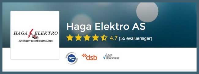 Elektriker Sandnes, Haga Elektro en av våre anbefalinger i Sandnes