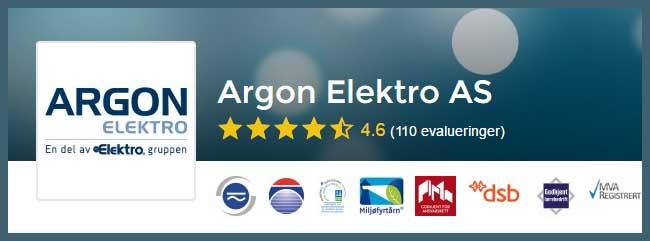 Elektriker Trondheim, vi anbefaler Argon Elektro AS