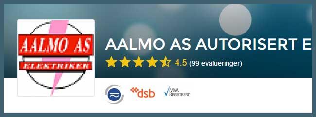 Elektriker Trondheim, vi anbefaler Aalmo AS