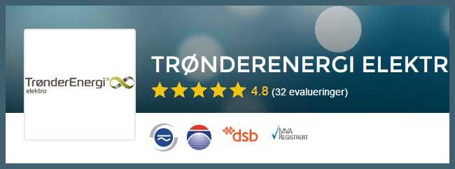 Elektriker Trondheim, vi anbefaler Trønderenergi Elektro AS