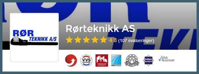 Rørlegger Stavanger, vi anbefaler Rørteknikk AS