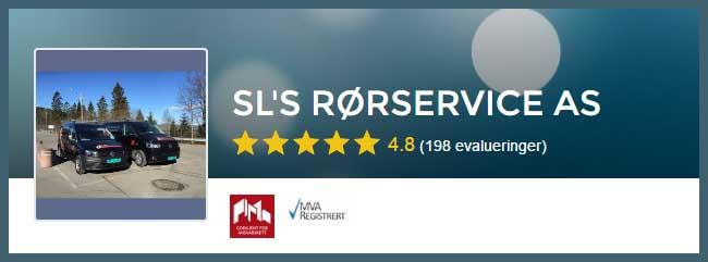 Rørlegger Oslo, vi anbefaler Sls Rørservice AS